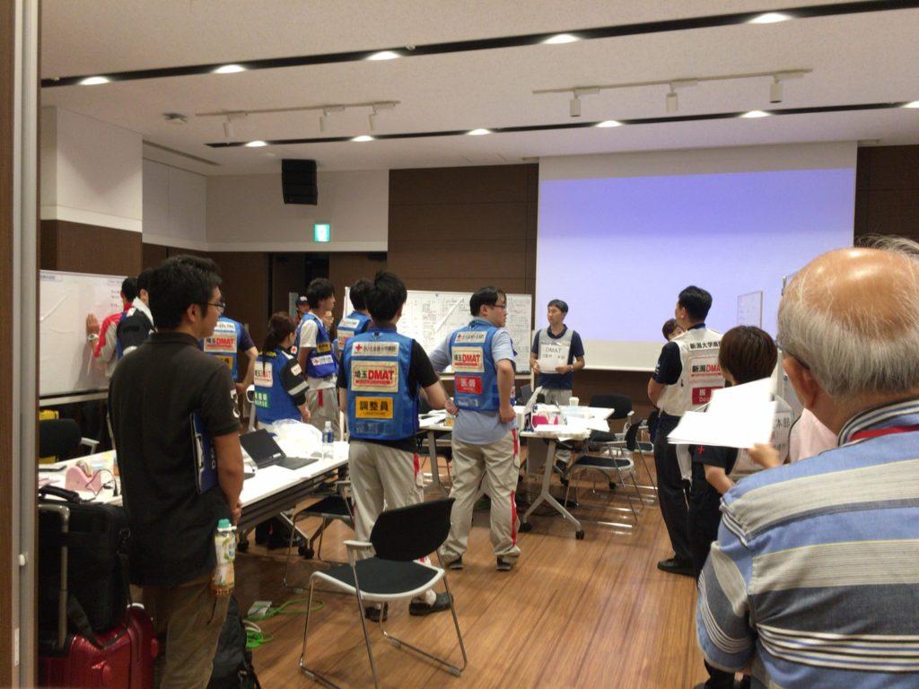大規模地震時医療活動訓練風景2